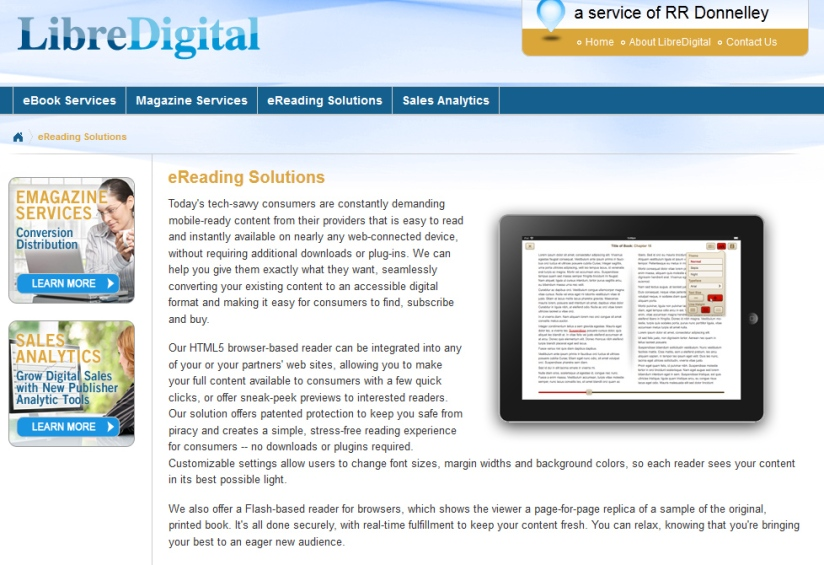 http://www.rrdonnelley.com/libredigital/ereading/home.aspx